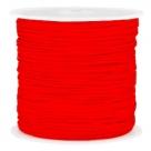1 m geflochtene Schnur - Ø 0,8 mm - Fiery Red