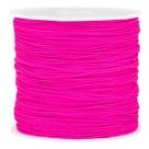 1 m geflochtene Schnur - Ø 0,8 mm - Hot Pink