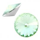 1 Stück Rivoli 12 mm (1122) - crystal crysolite