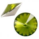 1 Stück Rivoli 12 mm (1122) - opal olivine
