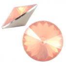 1 Stück Rivoli 12 mm (1122) - opal peach
