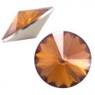 1 Stück Rivoli 12 mm (1122) - opal dk topaz