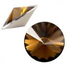 1 Stück Rivoli 12 mm (1122) - opal smoke topaz