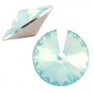 1 Stück Rivoli 12 mm (1122) - opal lt green turquoise