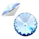 1 Stück Rivoli 12 mm (1122) - crystal lt sapphire