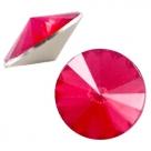 1 Stück Rivoli 12 mm (1122) - opal rose red