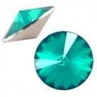 1 Stück Rivoli 12 mm (1122) - opal blue zircon
