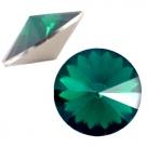 1 Stück Rivoli 12 mm (1122) - opal emerald green