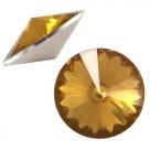1 Stück Rivoli 12 mm (1122) - opal topaz