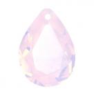 1 Tropfen facetiert 18x13x7mm (LxBxH) - opal water rose