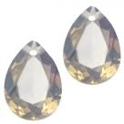 1 Tropfen facetiert 14x10x7mm (LxBxH) - opal colorado topaz