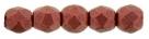 #33.07 50 Stück - 2,0 mm Glasschliffperlen - lava red