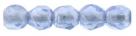 #07.02 50 Stück - 2,0 mm Glasschliffperlen - sapphire luster