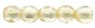 #05.03 50 Stück - 2,0 mm Glasschliffperlen - crystal luster/tr champagne