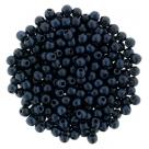 #78.02 - 50 Stck. Perlen Ø 2 mm rund - metallic suede - dk blue