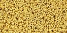 5 g TOHO Demi Round 11/0 TN-11-0712 - metallic gold 24k
