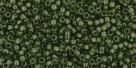 5g TOHO SeedBeads 15/0 TR-15-0940 - Tr. Olivine