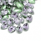 1 Glas-Tropfen Ø 25x18x8 mm - violet