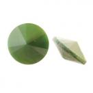 1 Glas-Rivoli Ø 12 mm - Leaf Green Pearl