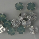 Swarovski® crystals -  Rose Montées (SS12) -  pacific opal - silver-plated (53100),