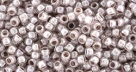 10 g TOHO Takumi Large Hole Seed Bead TTR-11-0353 - Inside Color Crystal/Lavender Lined