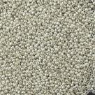 #15-33 10 g Rocailles 15/0 1,5 mm - metalic aluminium