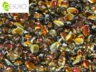 #01.07 - 50 Stck. Gekko Bead 3x5 mm - Crystal Marea