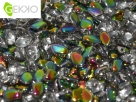 #01.06 - 50 Stck. Gekko Bead 3x5 mm - Crystal Vitrail