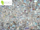 #01.01 - 50 Stck. Gekko Bead 3x5 mm - Crystal AB