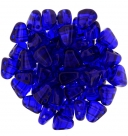 #04.00 - 25 Stck. NIB-BIT-Beads 6x5mm - Cobalt
