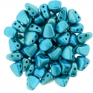 #05.01 - 25 Stck. NIB-BIT-Beads 6x5mm - Metalust - Turquoise