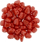 #07.00 - 25 Stck. NIB-BIT-Beads 6x5mm - Opaque Red