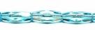 #27.01 - 4 Stück - 15*6mm Glasschliffperlen - dk aquamarine