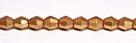 #02.03 - 25 Stück - 5,0 mm Sun Shapes - jet aztec gold