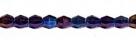 #01.06 - 25 Stück - 5,0 mm Sun Shapes - jet blue iris