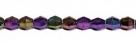 #01.07 - 25 Stück - 5,0 mm Sun Shapes - jet purple iris