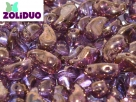 #01.00a - 25 Stück Zoliduo Right Version 5 x 8 mm Crystal Bronze