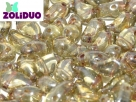 #01.05 - 25 Stück Zoliduo Left Version 5 x 8 mm Crystal Green Luster