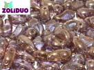 #01.06 - 25 Stück Zoliduo Left Version 5 x 8 mm Crystal Gold