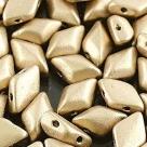 #01.02 - 25 Stück GemDUO 5x8 mm - Crystal Matte Aztek Gold