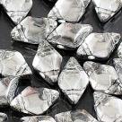 #01.08 - 25 Stück GemDUO 5x8 mm - Crystal Labrador