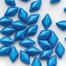 #02.01 - 25 Stück GemDUO 5x8 mm - Alabaster Pearl Shine Azuro
