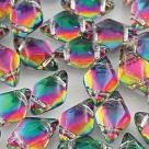 #01.12 - 25 Stück GemDUO 5x8 mm - Crystal BACKLIT - Spektrum