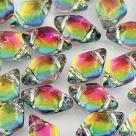 #01.13 - 25 Stück GemDUO 5x8 mm - Crystal BACKLIT - Utopia