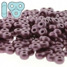 #26 5g TRINITY BeadS  3x6X6 mm - Alabaster Pastel Burgundy