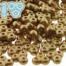 #33 5g TRINITY BeadS  3x6X6 mm - Alabaster Pastel Bronze/Pale Gold