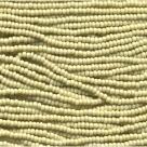 #12.01 - 19 g PRECIOSA Solgel Rocailles 11/0 2,2 mm - Opaque Lt Olive