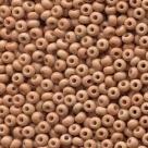 #01.01 - 10 g PRECIOSA Solgel Rocailles 06/0 4,0 mm - Opaque Wheat