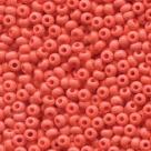 #10.01 - 10 g PRECIOSA Solgel Rocailles 06/0 4,0 mm - Opaque Coral