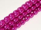 #03 - 1 Strang Teardrop Glass Pearls Ø 7*5 mm - hot pink